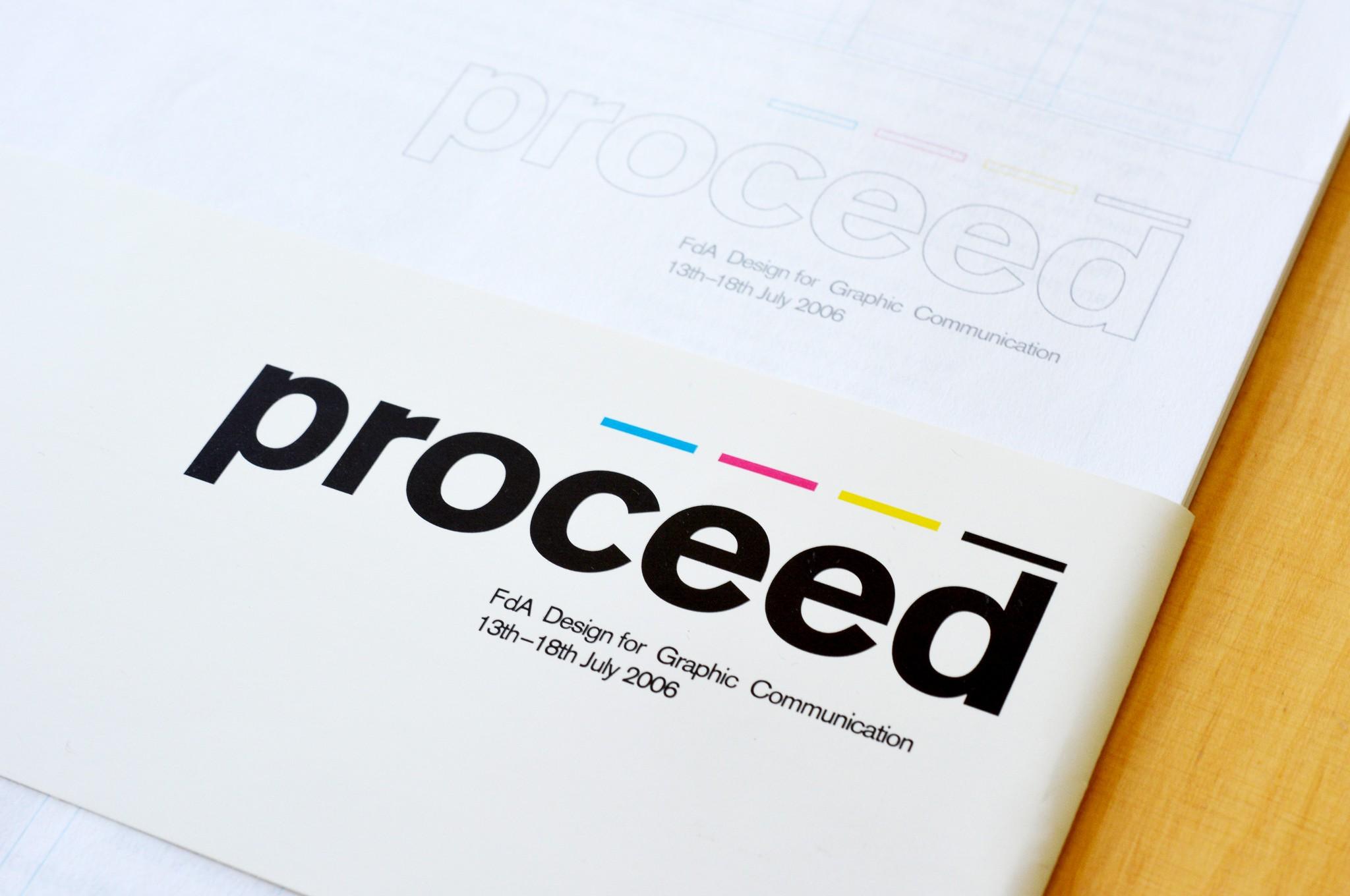 Proceed - Ausstellungskatalog